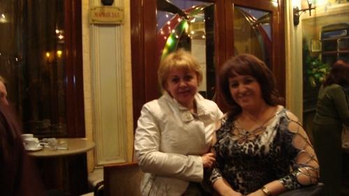 Елена Владимировна с Мариной Кабановой